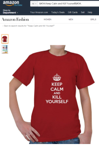 Keep Calm - Amazon